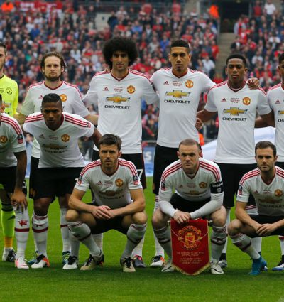 Once Inicial Del Manchester United