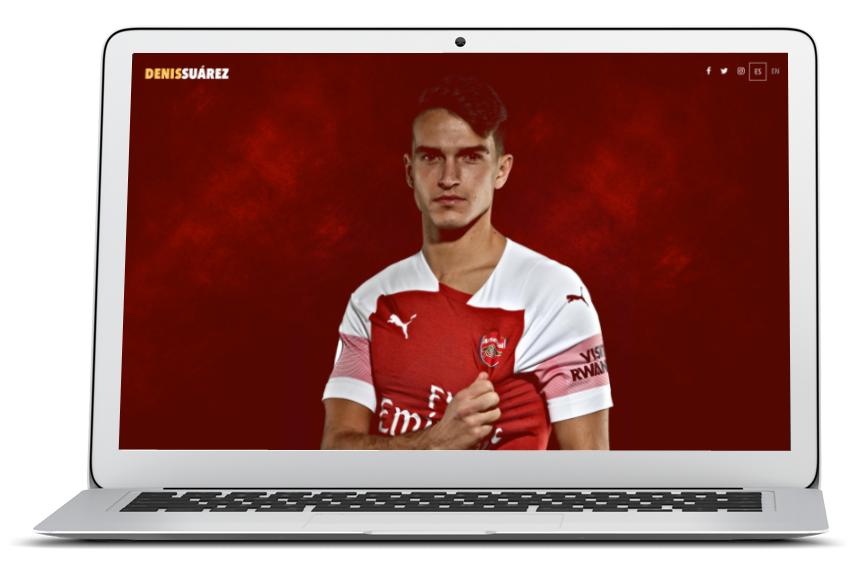 Web oficial Denis Suarez