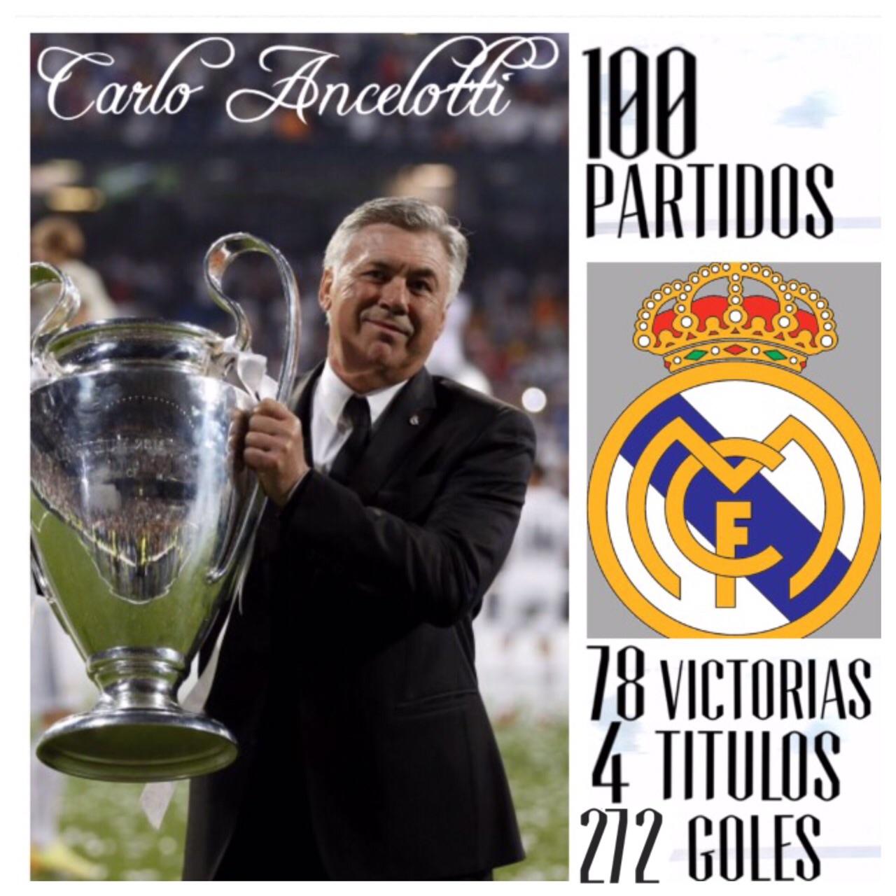 Ancelotti Hace Historia En Cien Partidos En El Real Madrid