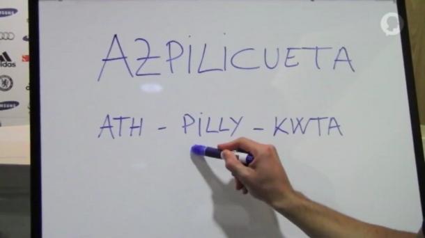 Azpilicueta Explica Cómo Decir Su Apellido: Ath-pilly-kwta