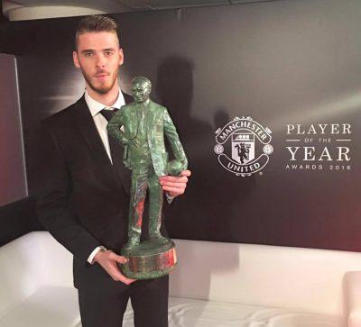 De Gea, 'Jugador Del Año' Por Tercera Temporada Consecutiva