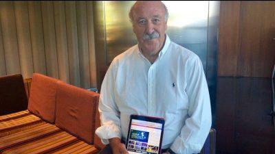 Vicente Del Bosque Se Une Al Proyecto Protalk De Sina Sport De La Mano De ImagoSport