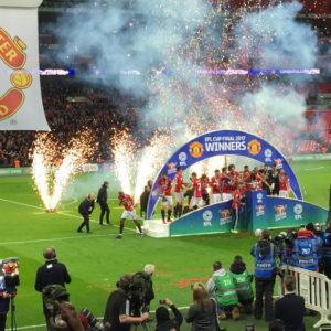 Celebración EFL Cup