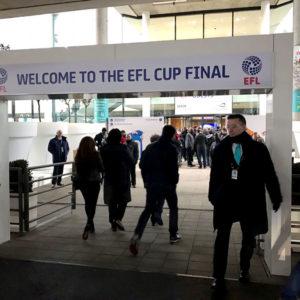 Final EFL Cup – Instantes Previos
