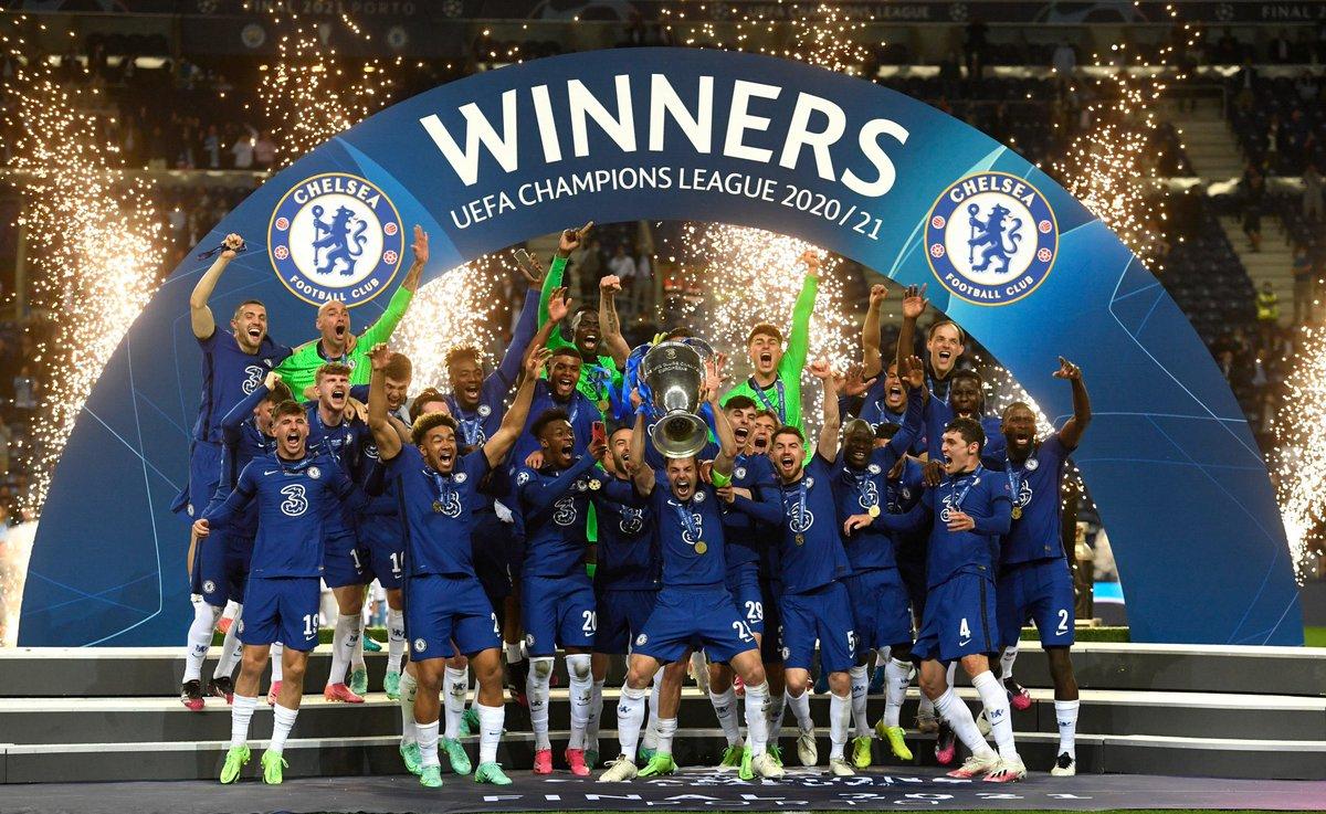El Chelsea Gana La Champions En Oporto